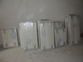 Секция В. Радиаторы отопления.