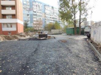 Работы по укладке дорог
